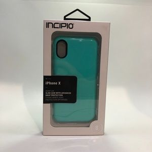 INCIPIO Slim Case w/Drop Protect iPhone X. NWT!